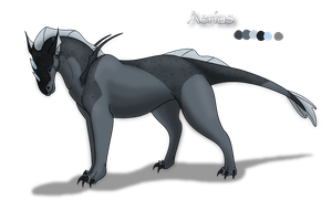 Azer'oc Commission: Aerias by Ebonycloud-Graphics