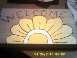 The Welcome Flower by TheCraftsWoman