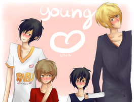 DRRR - Young by MintyChipLuv