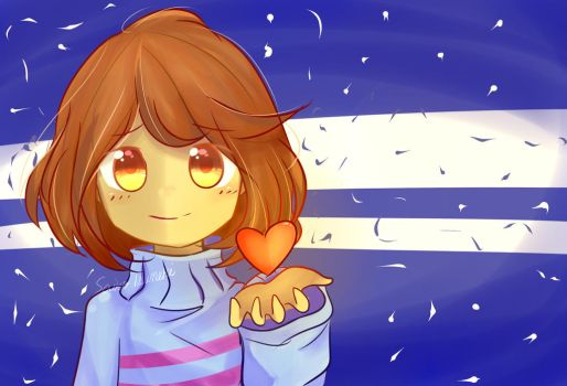 Cute Frisk by SaikoTsuneki