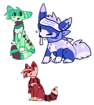 POINT Adoptables 2 ONE LEFT by puprika