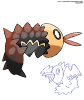 Who's This Fakemon Mini Contest Entry by Dragonith