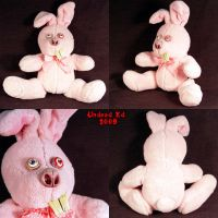 Looney Larry the Rabbit plush by Undead-Art