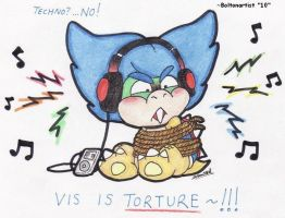VIS IS TORTURE by Boltonartist