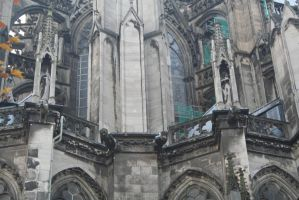 look at cologne dome closer by ingeline-art