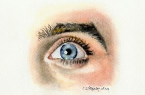 Jared LETO's eye by Someone-Else79