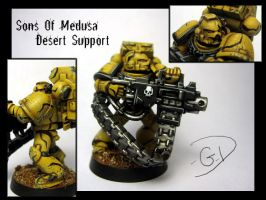 Desert Support Marine by aaronprovost