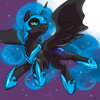 Speedpaint 23 - Nightmare Moon by KP-ShadowSquirrel