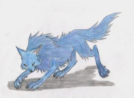 Blue Wolf by Blackwolfraptor