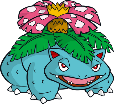Venusaur by MonsterMMORPG