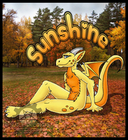 $Commission - Sunshine Badge by NuclearZombie18