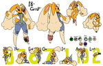 18 Carrot Character Sheet by Inkwell-Pony