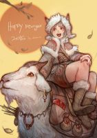 Happy New Years 2015 by DualNaito