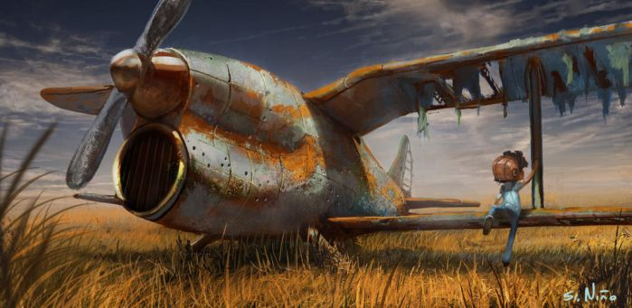 The plane by skeiro