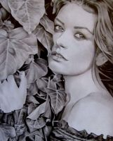 graphite - Catherine Zeta Jones by MAUZIS