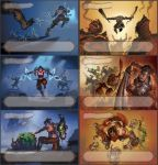 Lostlegends - exp. - characterskillcards. by the-John-Doe