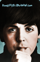 Paul McCartney in AHDN 1964 by koolkitty9