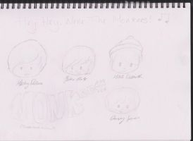 The Monkees by GoodDaySunShineXD