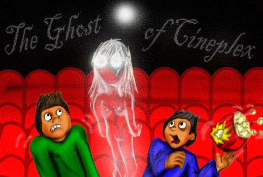 The Ghost Of Cineplex Colored by Rene-L