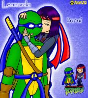 Leo and Karai by Porn1315