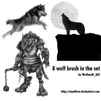 Wolf brush set by NamfloW