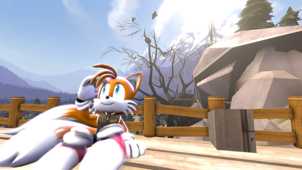 Tails - Watching Clouds (SFM) by MichaelJFan77