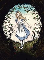 Down the Rabbit Hole by LaraBerge