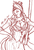 Fiora: You Need A Lesson In Pain by Bryan-Lobdell