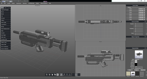 NightWong Assault Rifle WIP by TheSilverLining32