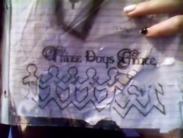 Three Days Grace Logo by BloodyXxBanshee