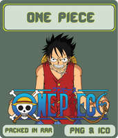 One Piece - Anime Icon by Rizmannf
