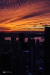 Sunset over the Hudson by marioatlp