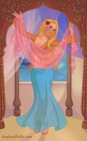 Belly Dancer Elly by Lizlovestoons12