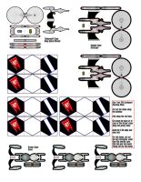 Star Trek Paperminis: 2.5D Federation Ships by TheShepster