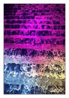 Colorful Waterfall by its-saiby