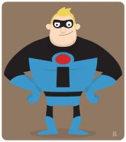 Mister Incredible 2 by striffle