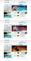 Qassim University Website by bluelioneye