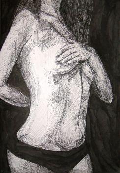 Headless Woman by Squigglybleh