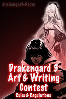 Drakengard 3: Art and Writing Contest Rules by rekka-alexiel