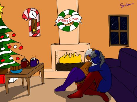 A Simple Christmas [Day 1 of Christmas] by LazySStorm