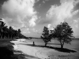 Pasir Ris Beach by aeew