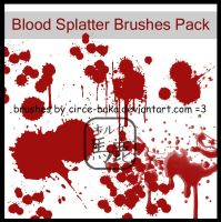 Blood Splatter Brushes Pack by Circe-Baka