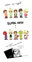 super hero by KnotBerry