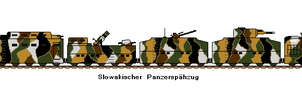 Slovakian Armoured Train by FlavourFabe