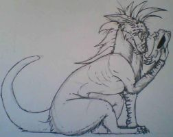 Traditional: Fluffy's revealed himself. by Fluffy-Duveteux