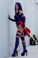 Yaya Han as Psylocke by antoniortiz