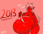 A new year with Ember and some chocolate by JayPisces