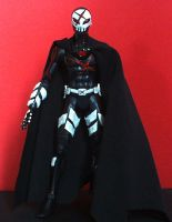 Red X custom action figure by SomethingGerman