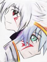 Haseo and Azure Kite by sobafanaticofDOOM