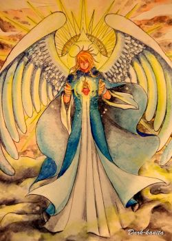 St. Jhudiel the Archangel by Dark-kanita
